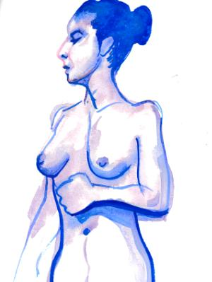 Nat, Standing Nude