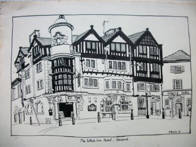 The White Lion Hotel, Stockport