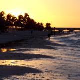 Progreso, Yucatan sunset