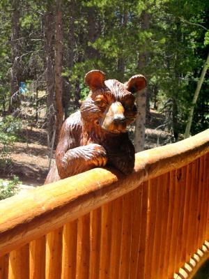 Railing Bear