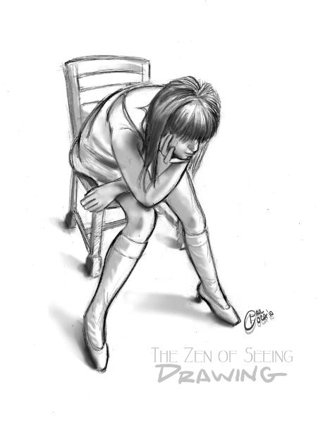 The Zen of Seeing a Woman Sitting on a Chair