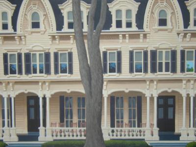 "Cooperstown Inn   16"" x 20""    sold"