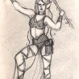 Dark Elf, Staff Raised