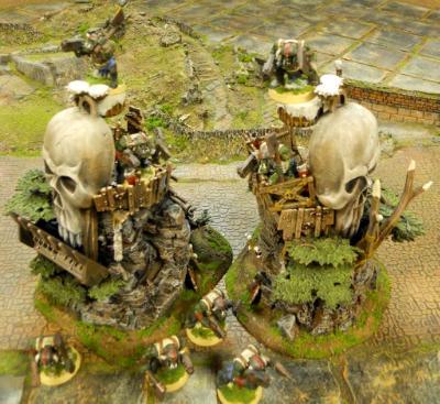 Orc/Ork Idols of Gork n Mork
