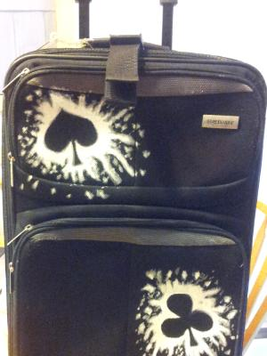 Poker suitcase (front)