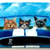 4 CATS IN A SHELBY COBRA