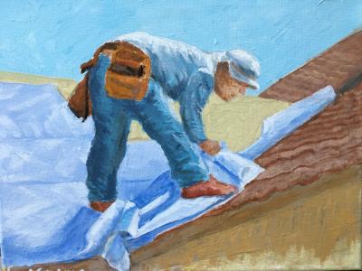 Essential Worker I: Roofer