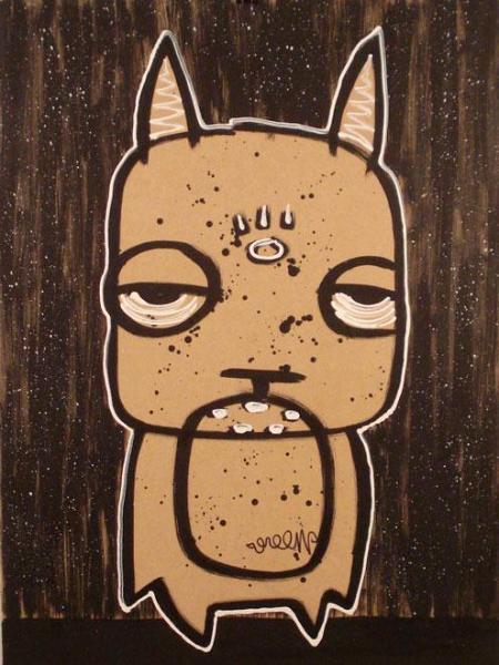 Charlie green street art urban pop artist new york toronto