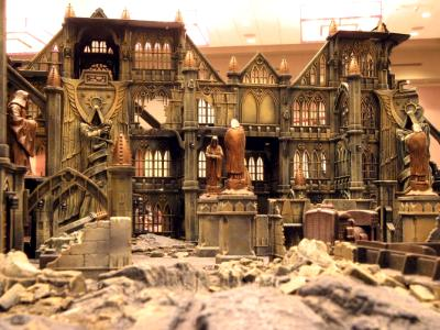 Adepticon Display Inside View