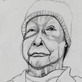 Nonna Charcoal Front View