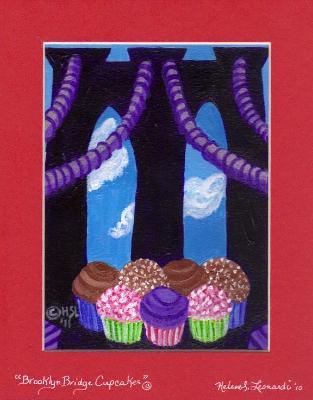 Brooklyn Bridge Cupcakes