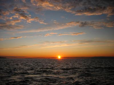 Sunset at Fire Island