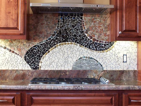- Mosaic Custom Backsplash - Julie Boegli Creative Mosaic Design