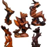 Stohans Showcase Modern Redwood Sculptures