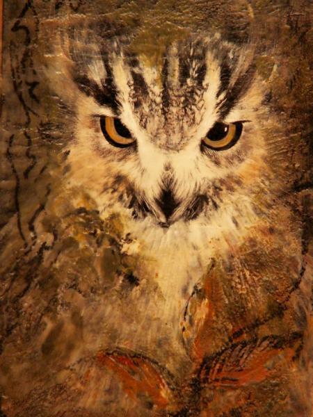 Yvonne Buijs-Mancuso Encaustic Painting &  Glass Art