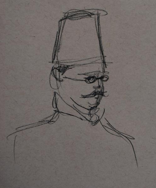 Moustache and Fez