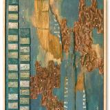 Lewis Folden - Assemblage Paintings Sculpture