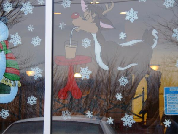 Rudolf standing