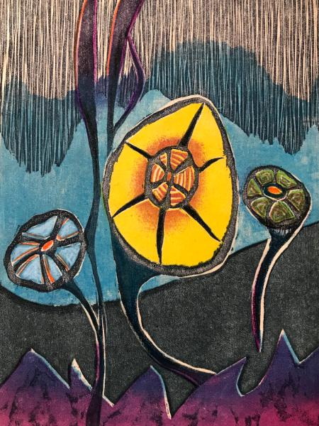 Vibrant Garden II
