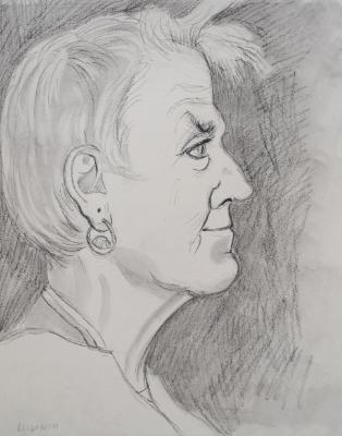Elizabeth Profile Portrait