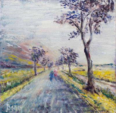 Road in Provence - SOLD