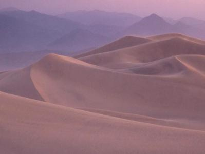 Morning Dunes - Death Valley