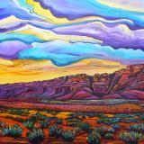 Vermillion Cliffs - 30x40 original acrylic on gallery wrap canvas - SOLD