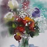 I fiori d´estate, 38cm x 28cm, 2020