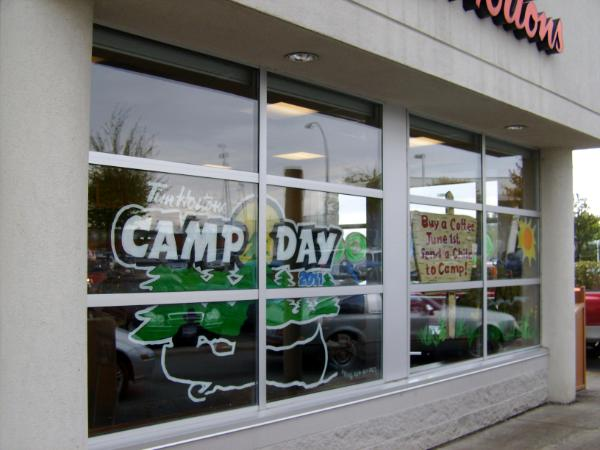 Tim Horton's Camp Day Promo