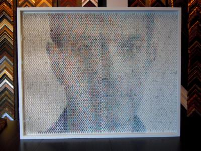 Peter Coombs - paint sample portrait