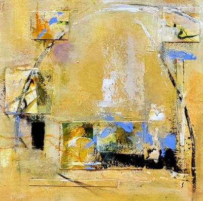 Abstract Study in Yellow