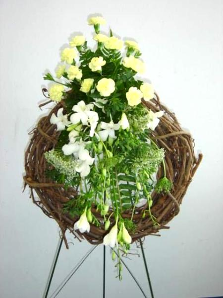 Another funeral wreath