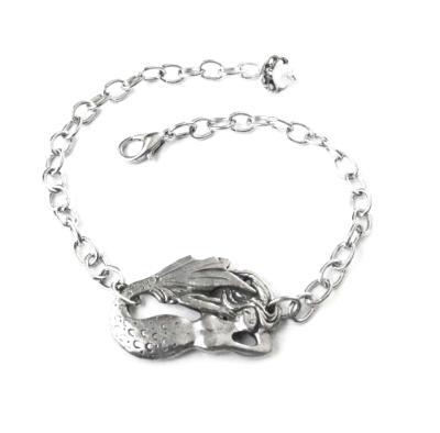 Mermaid reversable bracelet from an original design