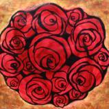 Red & Gold Rose I