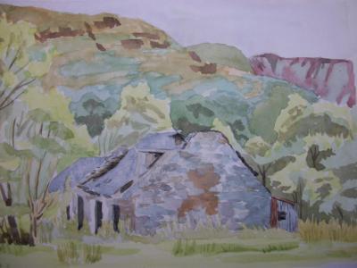 Derelict croft, nr Loch Lomond