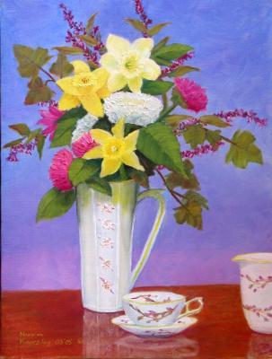 Daffodils at Tea Time