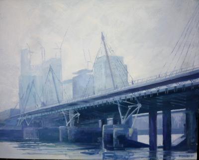 Early sunday morning, Embankment