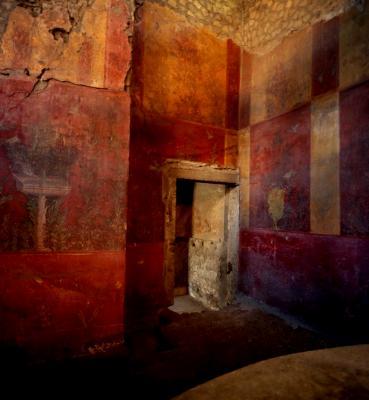 Roman Doorway/Red Room