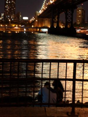 Couple by the East River