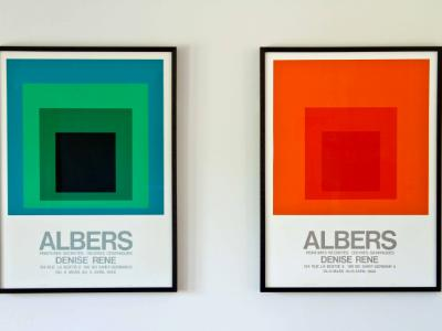 Josef Albers show prints 1968