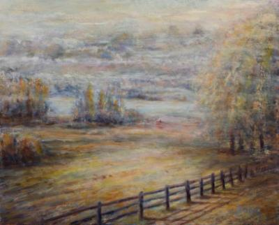 A Foggy Morning - SOLD