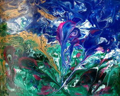 Floral eruption