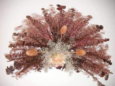 Fan Shape Design-Dried Flower