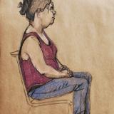 Renea, Seated