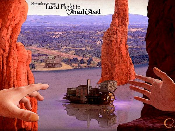 Lucid Flight to Anah 'Asel