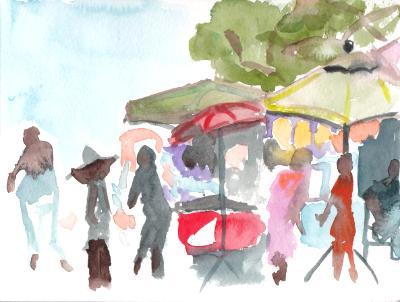 Flea Market Stalls