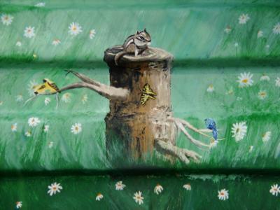 stump with creatures