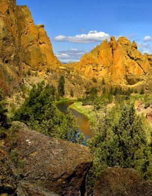 Balanced Above Crooked River Canyon
