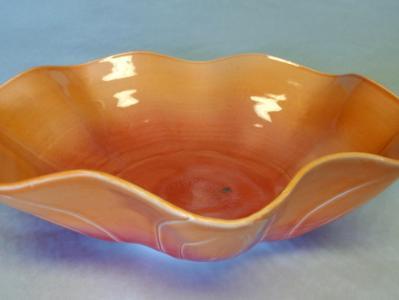 Large Wavy Bowl