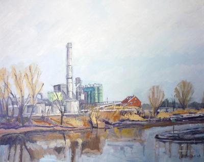 Factory at Gouda